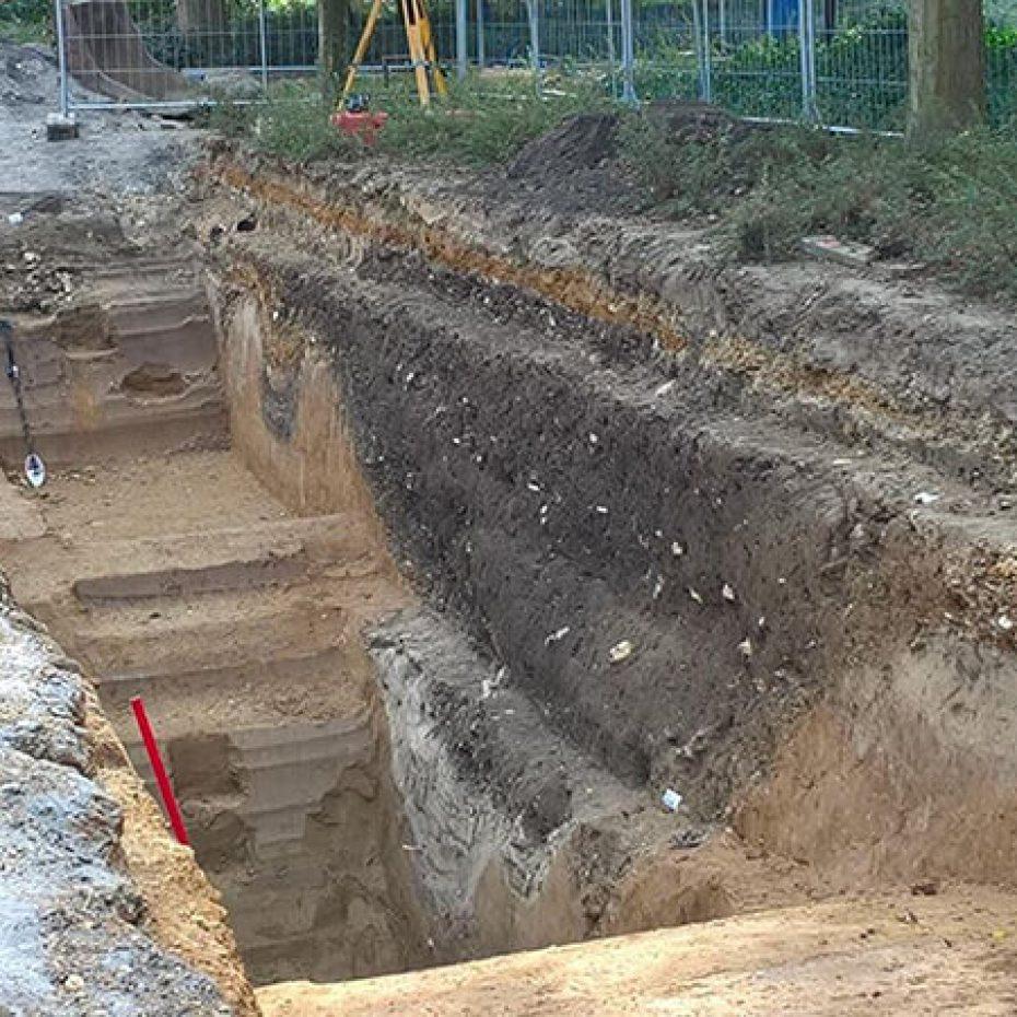 Romeinse vondst Tempsplein