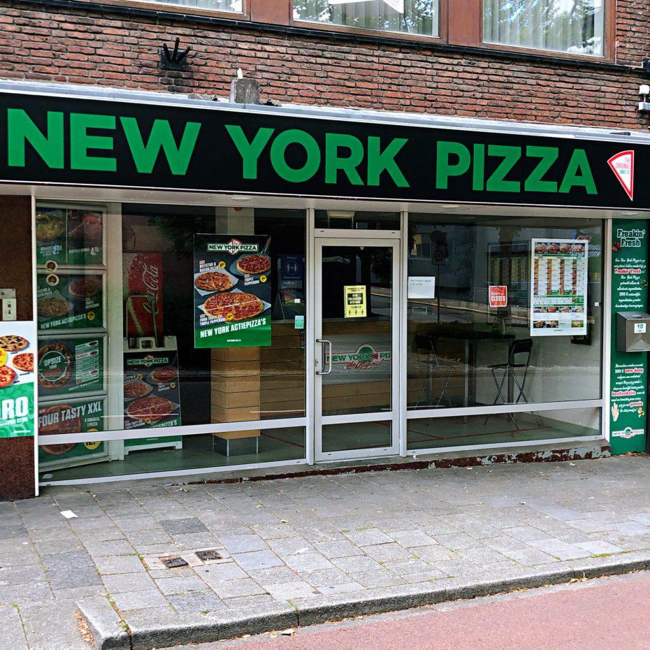 New York Pizza voorkant